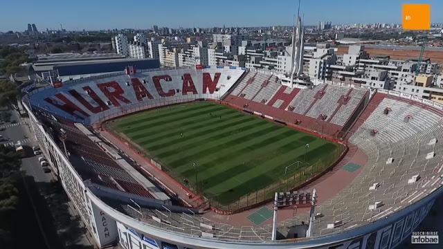 Estadio de Huracán vista aerea