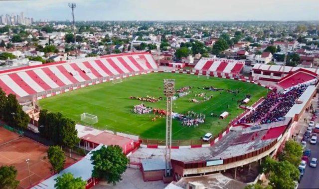 Estadio de Los Andes vista aerea