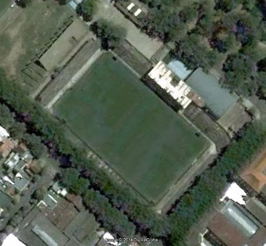 El viejo estadio de Estudiantes google earth