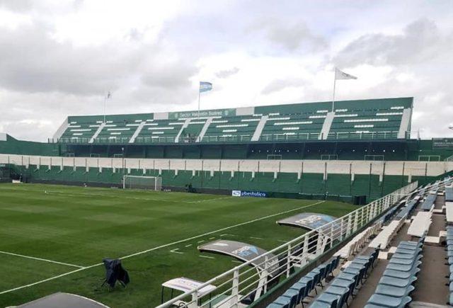 estadio de Banfield tribuna