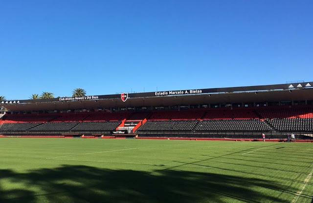 estadio Newell's platea local