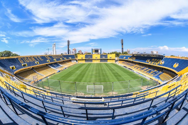 Estadio Rosario Central tribunas