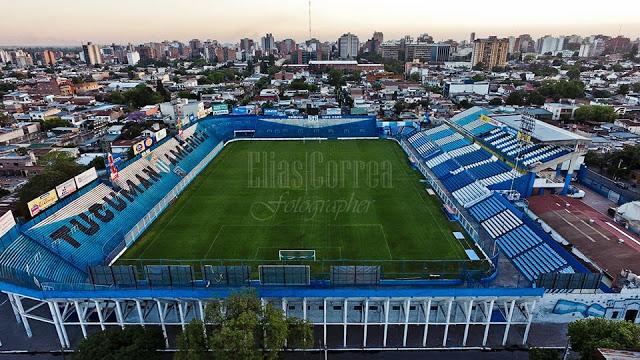 cancha de Atlético Tucumán desde afuera