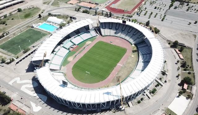 Mario Alberto Kempes vista aerea del estadio
