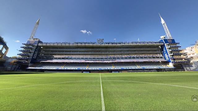 cancha de Boca Juniors palcos