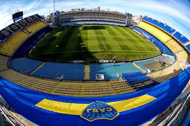 Boca Juniors panoramica de la cancha