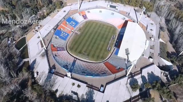 Estadio Malvinas Argentinas vista aérea