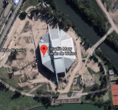 Mary Terán de Weiss - Parque Roca google map