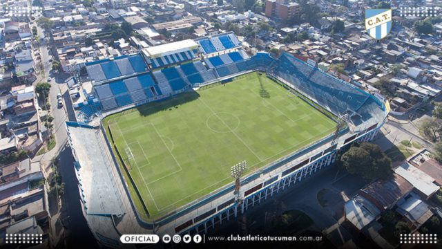 cancha Atlético Tucumán platea