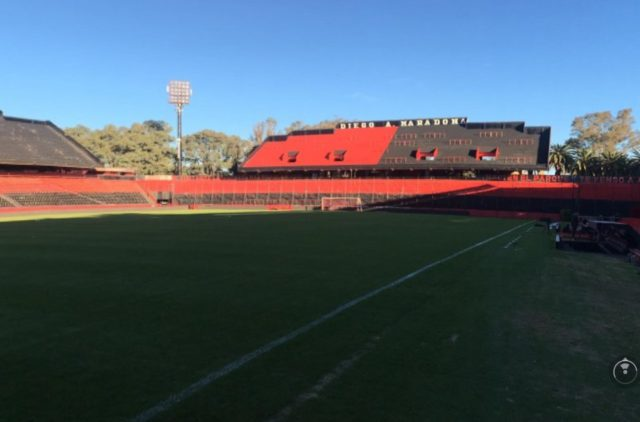 estadio Newell's tribuna maradona