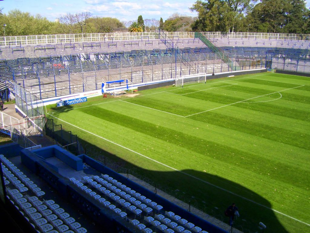 cancha Gimnasia La Plata tribuna popular
