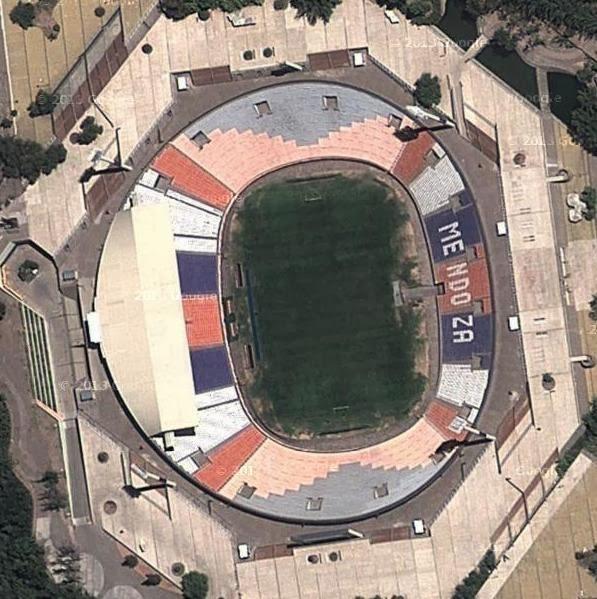 Estadio Mundialista de Mendoza google map