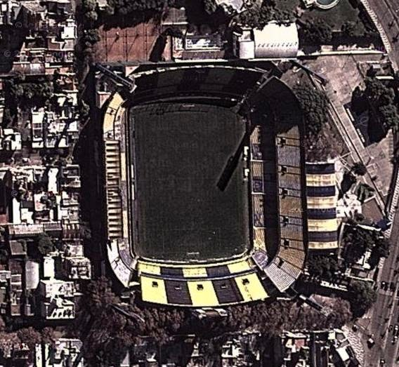 cancha de Rosario Central google map