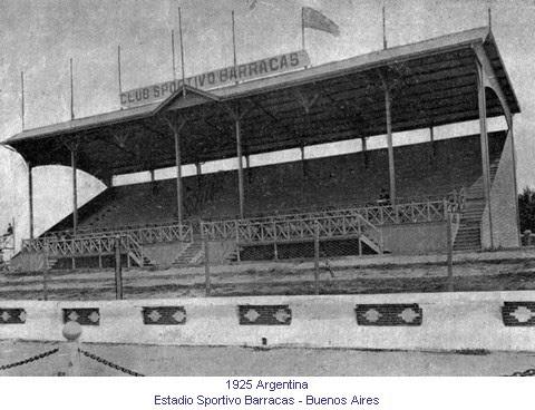 La cancha de Sportivo Barracas