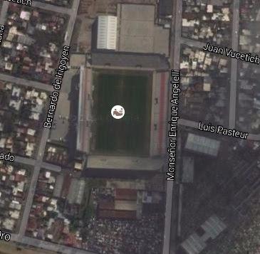cancha Morón google map