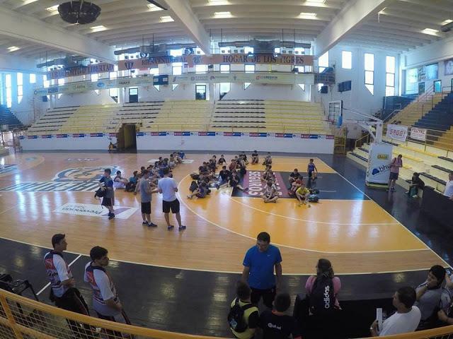 Estadio cubierto Libertad Sunchales
