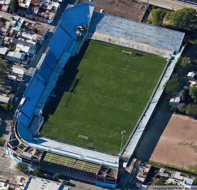 cancha de Belgrano de Córdoba google map