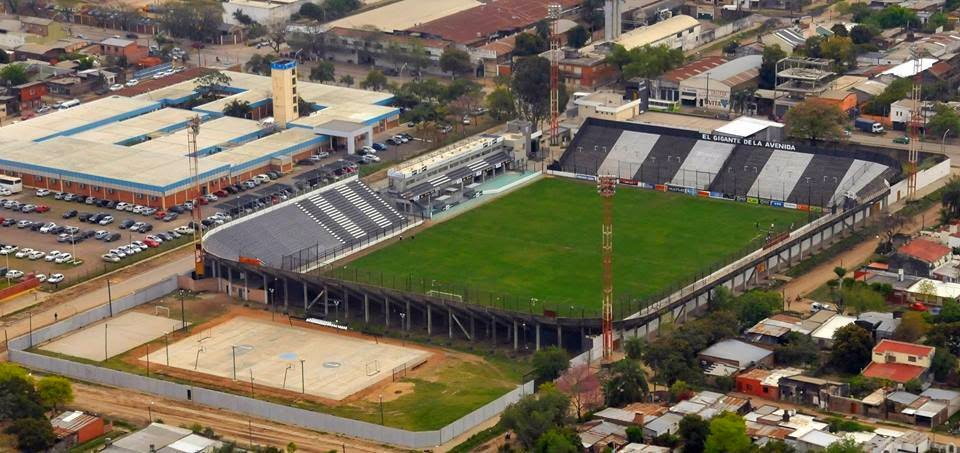 cancha Chaco For Ever vista aerea