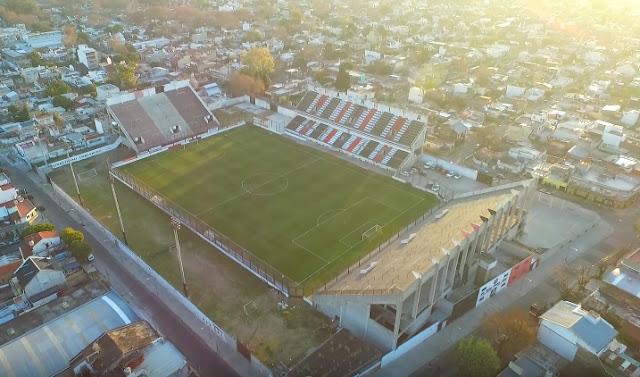 cancha Chacarita Juniors vista aerea