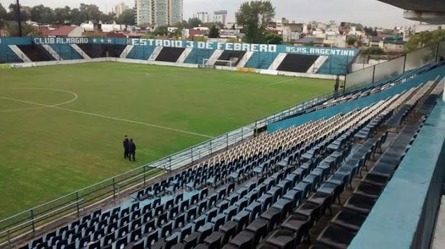 cancha Almagro tribunas