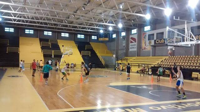 Estadio cubierto Deportivo Madryn