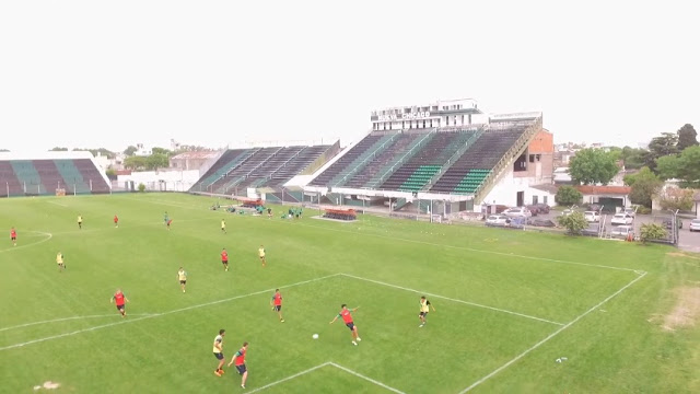 Estadio Nueva Chicago platea