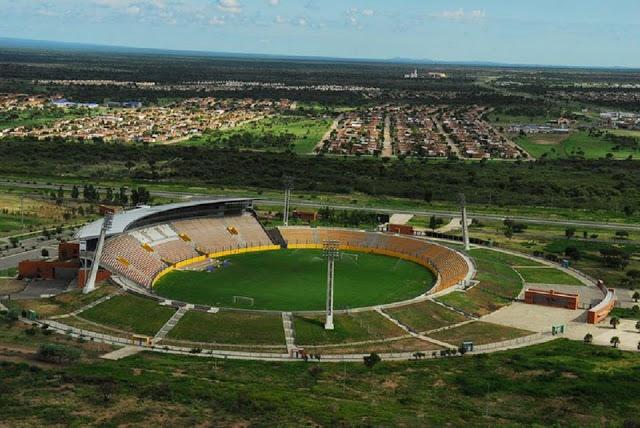 Estadio Juan Gilberto Funes de San Luis vista aerea