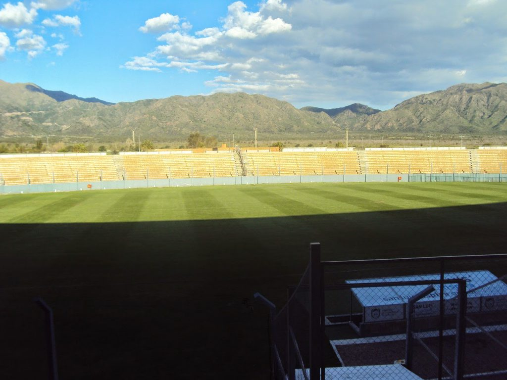 Estadio de San Luis tribuna lateral