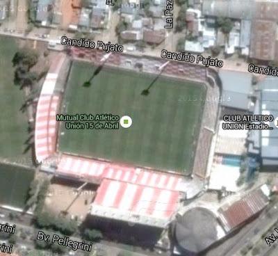 cancha de Unión de Santa Fe google map