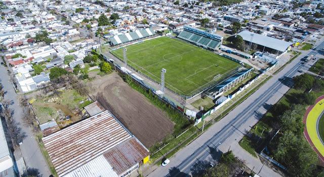 cancha Sportivo Belgrano vista aerea