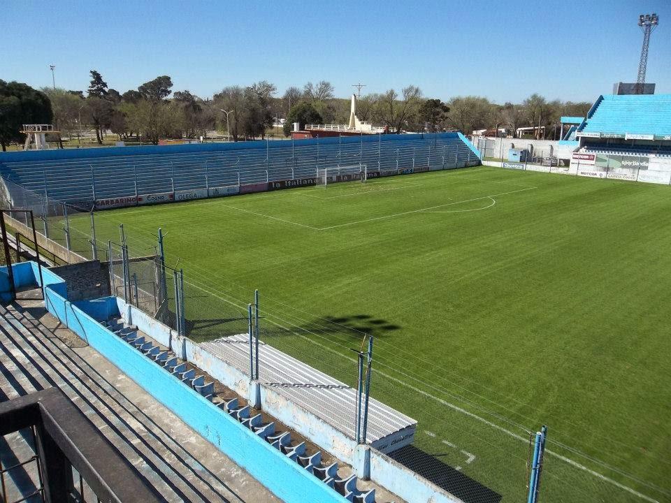 Estudiantes Río Cuarto tribuna norte