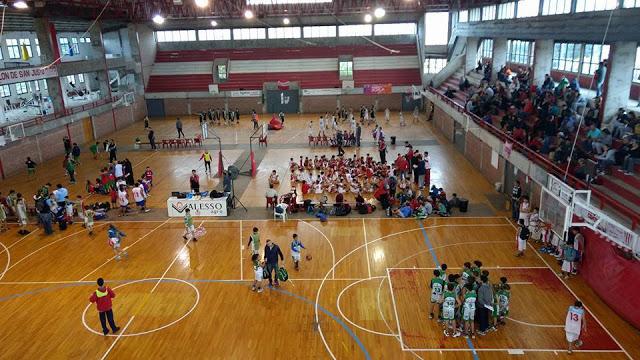 Estadio Colón de San Justo basquet