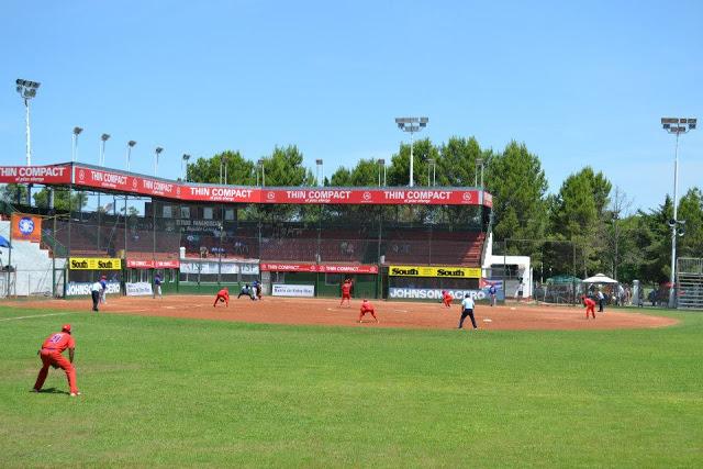 Estadio Mundialista de Softbol tribuna