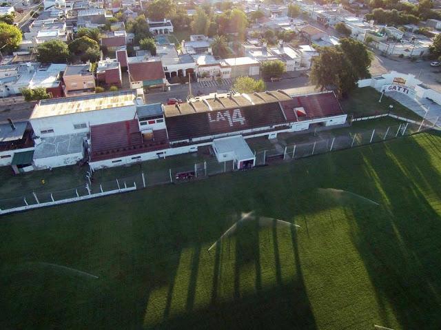 cancha de Sporting de Punta Alta platea