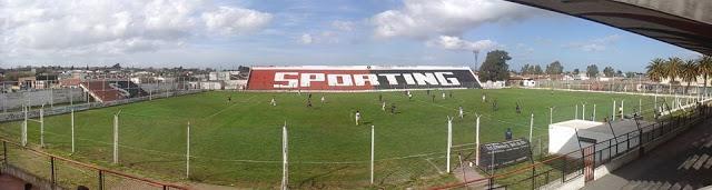 cancha de Sporting de Punta Alta panoramica