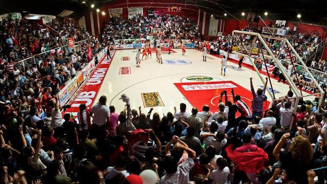 Estadio Cubierto Unión Progresista de Villa Angela panoramica