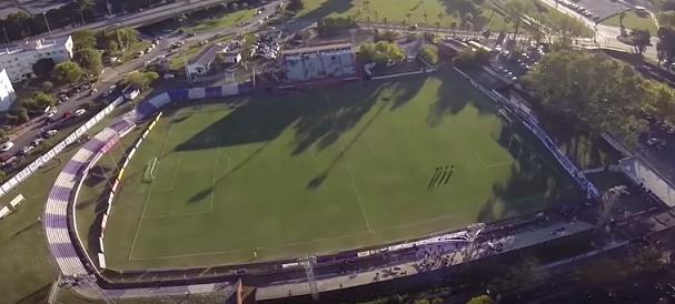 Estadio Villa Dálmine drone
