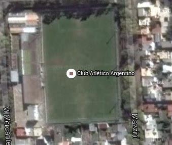Estadio de Argentino de Rosario google map