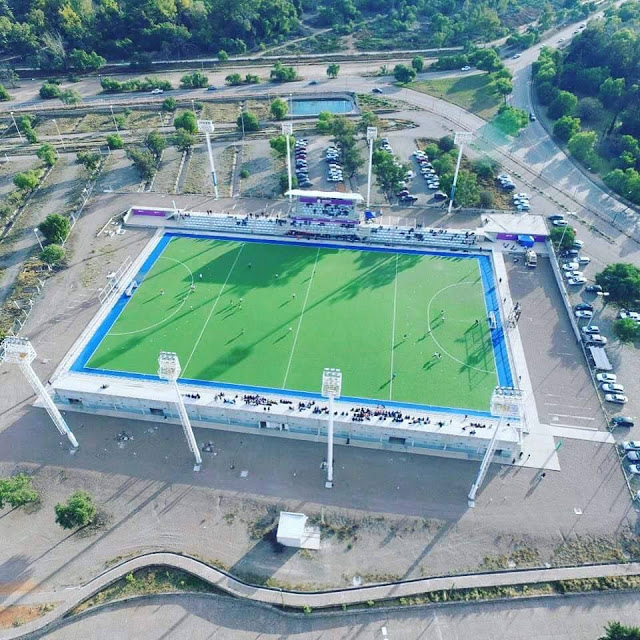 Estadio Mendocino Hockey vista aerea