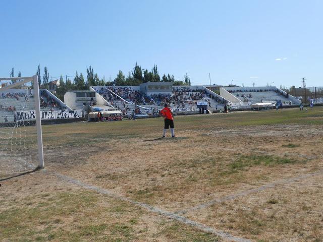 Estadio Caleta Olivia tribunas