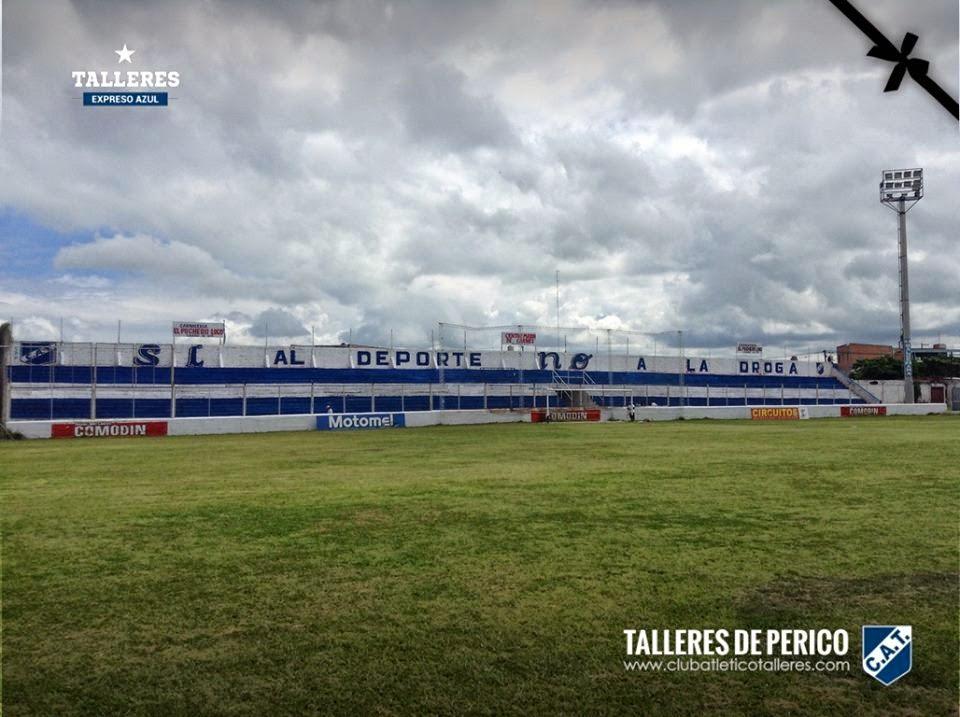 Estadio de Talleres de Perico tribuna popular