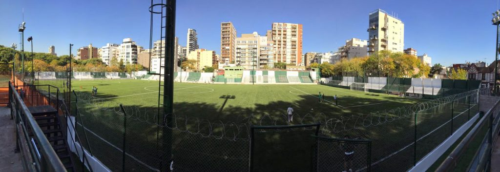 cancha Excursionistas panoramica