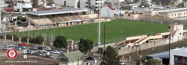 Estadio de Villa María vista