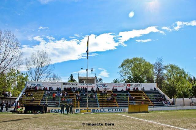 estadio Andes FBC Alvear platea
