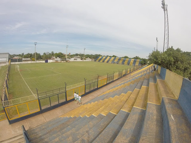 Estadio Mitre Posadas panoramica