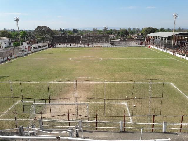 cancha Sportivo Guzmán tribuna popular