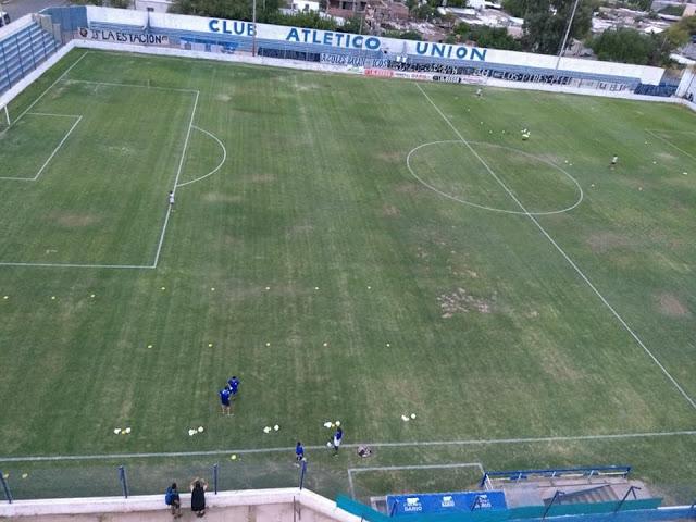 Estadio Unión Villa Krause tribuna