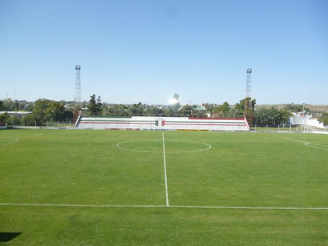 cancha de Deportivo Patagones tribuna