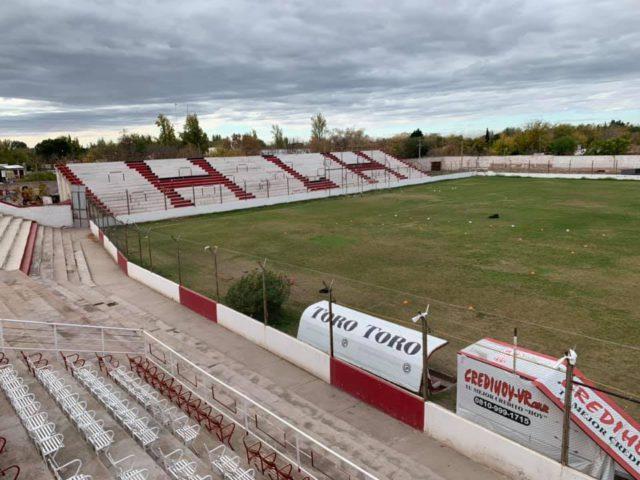 estadio Huracan Las Heras tribuna