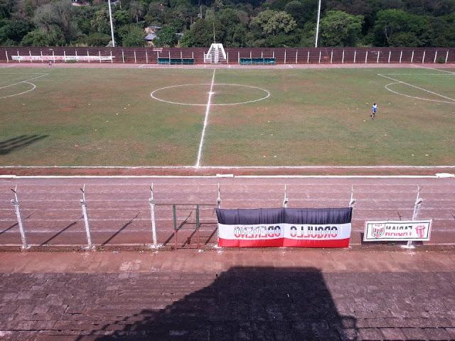 Estadio de Oberá tribuna lateral
